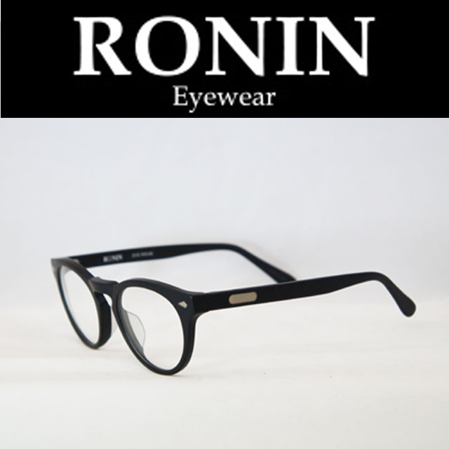Ronin Eyewear ( ロニンアイウェアー ) DKM M.Black/Clear Lens ( スケートボード スケボー サーフィン ステッカー) ( サングラス ロニンアイウェアースケート 限定品 )