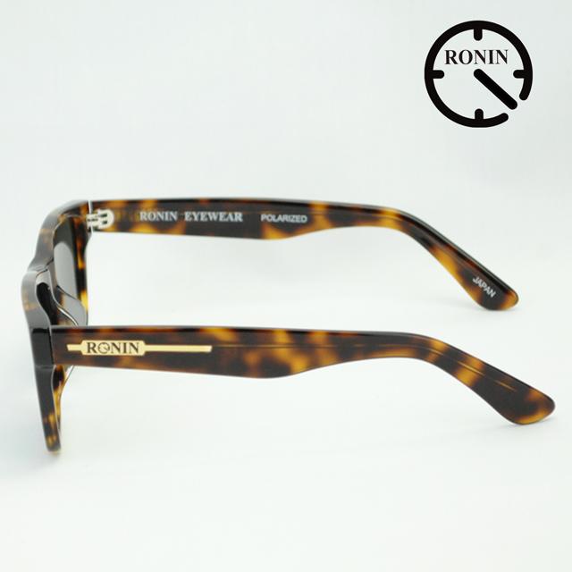 UVカット サングラスRonin ロニン ロニンアイウェアー Eyewear Type-A Amber / Green Mirror Polarized Lens