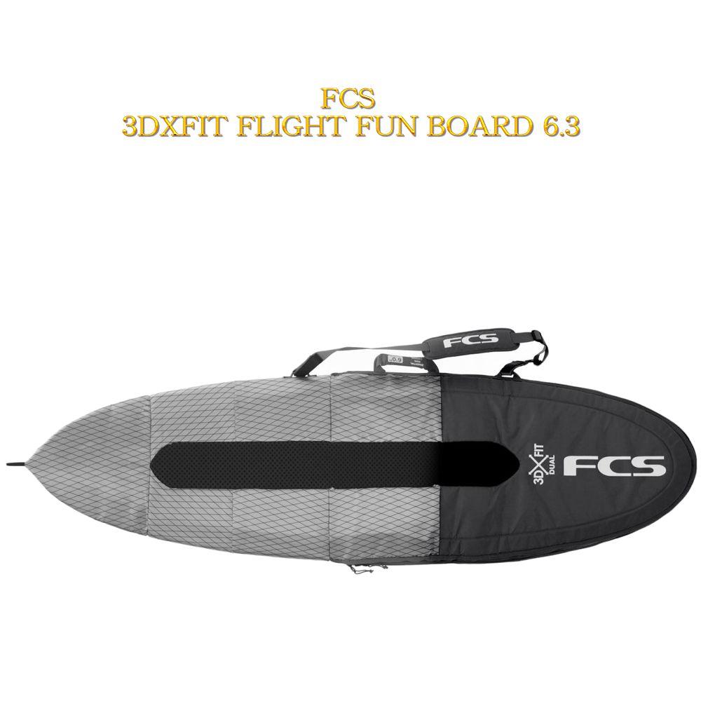 FCS エフシーエス ハードケース サーフボードFCS 3D LIGHTEST SHORT HAUL COVER 6.3 FUN BOARD
