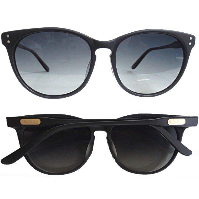Ronin Eyewear ( ロニンアイウェアー ) Halo マットブラック グレーグラデーションレンズ ( スケートボード スケボー サーフィン ステッカー サングラス ロニンアイウェアースケート ハロ )