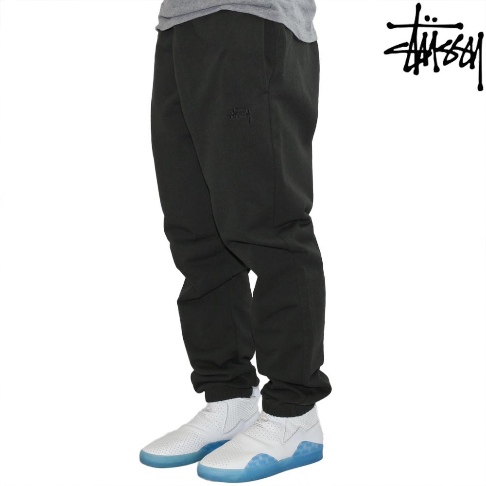 Stussy ステューシー パンツ スウェット Stock Terry Pant ブラック ストック メンズ ストリート ファッション