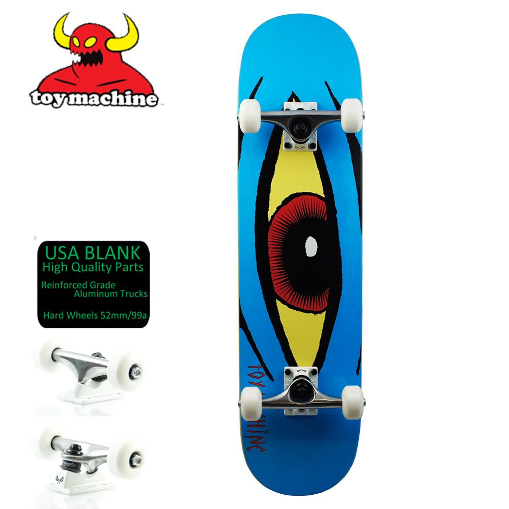 スケボー コンプリート スケートボード セット TOY MACHINE トイマシーン COMPLETE Sect Eye Blue 初心者 おすすめ コンプリート