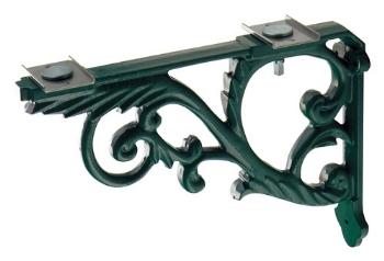 250-005-G カクダイ ブラケット//鋳鉄、緑色塗装 KAKUDAI 02P09Jul16