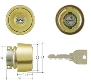 DV仕様向けMIWA(美和ロック) U9シリンダー LAタイプMCY-234 02P09Jul16