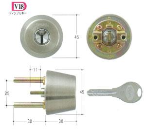 GOAL V18シリンダー TXタイプ GCY-237  玄関 テール刻印34/扉厚34~37mm向けGCY237ゴール TX TDD 02P09Jul16