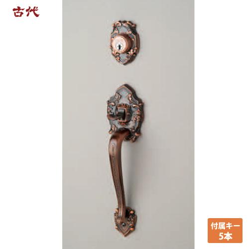 KODAI(古代) 装飾錠 ニュープレジデント 301 サムラッチハンドル錠 ドアノブ 長沢製作所 02P09Jul16