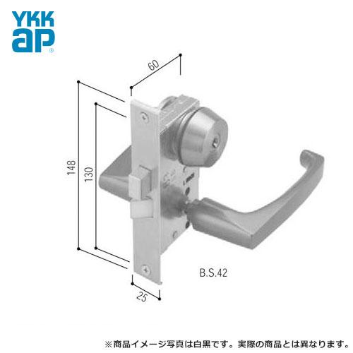 YKK ドアロック錠 勝手口 通風ドア 2KD-U1 レバーハンドル錠 HH-J-0494U9 02P09Jul16