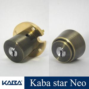 Kaba Star Neo(カバスター・ネオ) シリンダー錠 MIWA THMタイプ+HBZSP(BH)タイプ  2個同一セットKaba6159+6160組合せ2 02P09Jul16