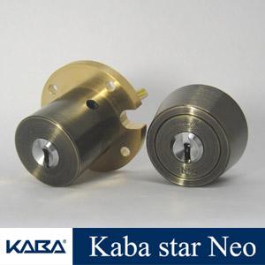 2個同一セット Kaba Star Neo(カバスター・ネオ) シリンダー錠 MIWA THMタイプ+LSPタイプ Kaba6159+6150R 組合せ3