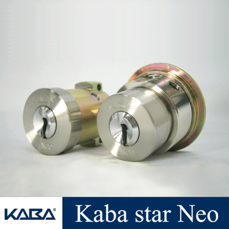 2個同一KabaStarNeoシリンダー MIWA PA + LIX 6137NR + 6150 キー10本付属 カバスターネオ Kaba Star Neo 6137NR 6150美和ロック PA LIX 02P09Jul16