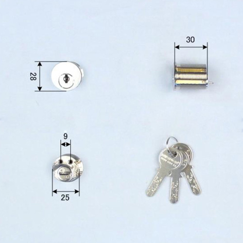 Ohshima(オーシマ) 東洋シャッター Nikaba製 高性能シリンダー錠 ネジコミ型用  Nikabaディンプルキー仕様 OHS /OSK /Oshima