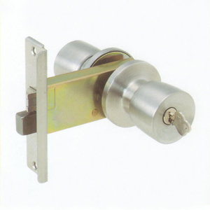 玄関 AGENT 握り玉錠  バックセット95mm /L型フロント 玄関向け R-6 R6