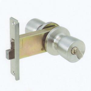 玄関 AGENT 握り玉錠  バックセット100mm /L型フロント 玄関向け R-8 R8