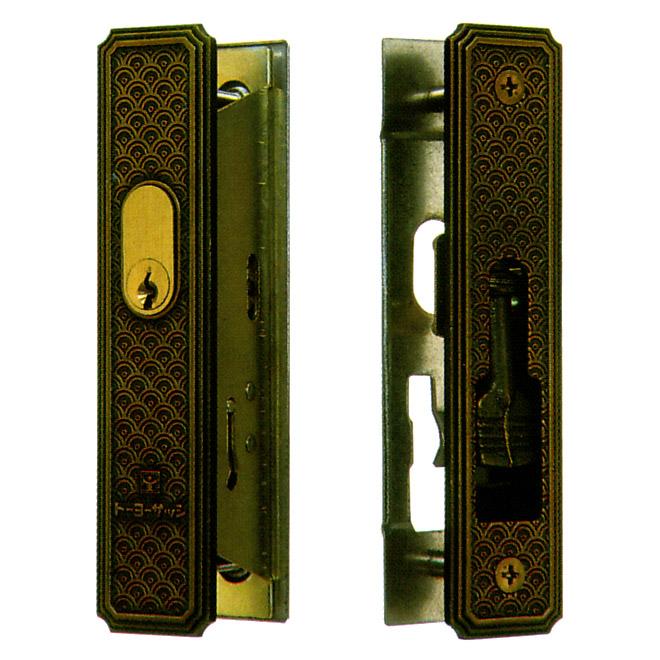 TOSTEM(トステム) アルミサッシ 引戸錠 召合せ KH-61 キー3本付属 品番:L2Y11 トーヨーサッシ29 CL-800T0KH61引戸 引違戸 02P09Jul16
