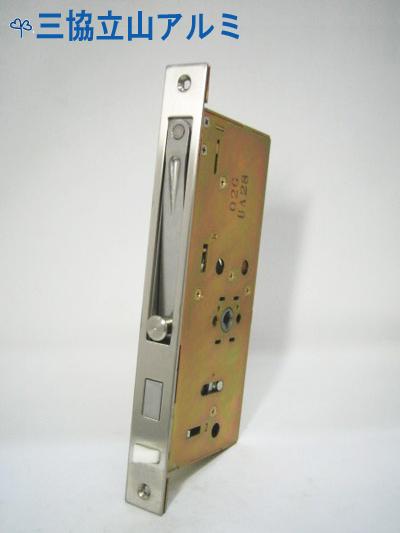 三協立山アルミ 錠ケース MIWA GAE3 ガードロック 補助錠 交換 取替えバックセット51mm 主な使用ドア:LEOAL2、レオール2 など GAE3