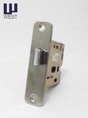 【5個で15%OFF】ロック機能あり WEST 錠ケース G53-6R 室内ドア ラッチケース 交換 取替えバックセット50mm 角6R ウエスト G-53