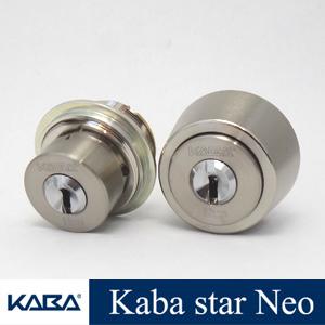 2個同一 KabaStarNeoシリンダー MIWA TESP + LZSP 6150 6150R  カバスターネオ Kaba Star Neo 6150 6150R 美和ロック LIX LSP