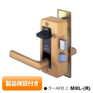 GOAL_MXLゴール 面付け箱錠 MXL レバーハンドル型 ドアノブ セット高性能V18シリンダーゴールド色 保証対象商品 02P09Jul16