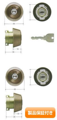 MIWA(美和ロック) U9シリンダー LAタイプ  2個同一セットMCY-415 LA/LAMA/DA 保証対象商品