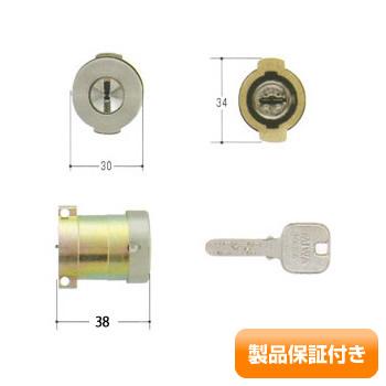 MIWA(美和ロック) JNシリンダー PAタイプ 用塗装シルバー TMCY-494 MIWA KABA PA・PG 保証対象商品