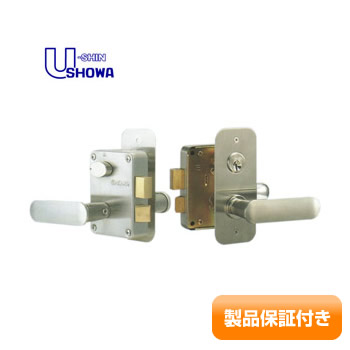SHOWA(ショウワ) 面付錠 レバーハンドル NXシリンダー 7680L型  ドアノブ NXキー仕様 7680L 保証対象商品