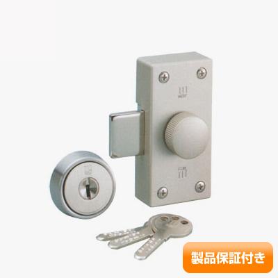 WEST(ウエスト) 554 面付け 補助錠 916リプレイスシリンダー 後付け ワンドアツーロック WEST554 MIWA NDR・NDZ などのお取替え対応 保証対象商品