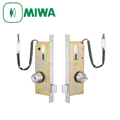 MIWA(美和ロック) AL3M-1 本締り 電気錠 セット片面シリンダー/片面サムターン