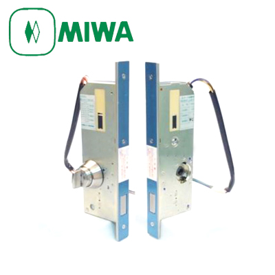 MIWA(美和ロック) AL3M-3 本締 電気錠 交換セット片面サムターン
