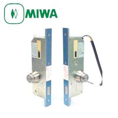 MIWA(美和ロック) AL3M-4 本締 電気錠 交換セット両面シリンダー