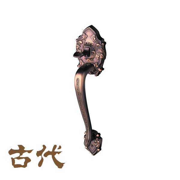 KODAI サムラッチハンドル装飾錠 ニュープレジデント 空錠 ドアノブ 長沢製作所 古代 品番:21164GB 02P09Jul16