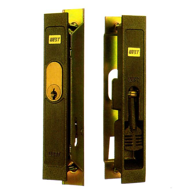 WEST製 アルミサッシ 召合錠 SMKH-4B  引き戸 主な使用サッシ:YKK, 神鋼 など SMKH4B 引戸 引違戸