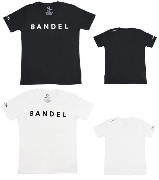BANDEL 밴 델 T 셔츠 로고 (V 넥) 액세서리 티 언더 셔츠