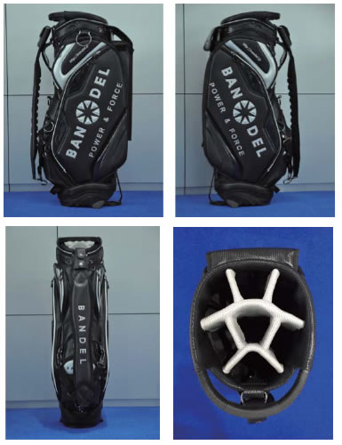 バンデル ゴルフバッグキャディーバッグ BANDEL Golf Bag サイズ:9.5インチ キャディバッグ GOLF レディース メンズ