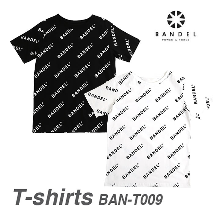 【正規販売店】バンデル Tシャツ オールオーバーロゴ(送料無料)