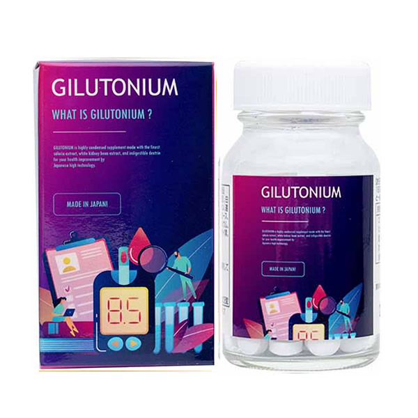 ギルトニウム 90粒 (全国一律送料無料) Gilutonium gilutonium サラシア 白インゲン 結晶セルロース HPMC 栄養 補助 サプリ サプリメント