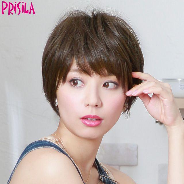 プリシラ オールウィッグ【ナチュラルショート】A-676耐熱 (送料無料)