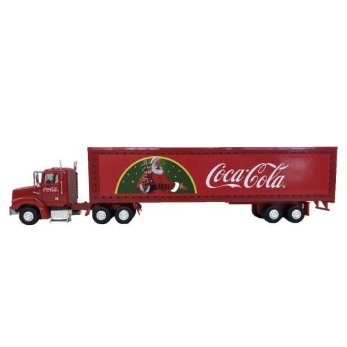 (165)Coca-Cola Miniature Car Holiday Caravan 1/43スケール(PJ-MC23)*