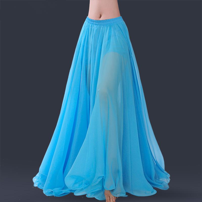 ベリーダンス衣装 ベリーダンススカート ベリーダンスボトムス ベリーダンスウェア 全商品オープニング価格 無地 スカートベリー 社交ダンス衣装11色入荷 dp120z 発表会 品質保証 衣装