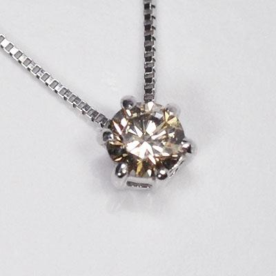 通販 期間限定! K10WG(ホワイトゴールド)・ダイヤモンド0.1ct(SIクラス・鑑別書カード付) スタッドペンダント(ネックレス), 福山町 b9f530f5