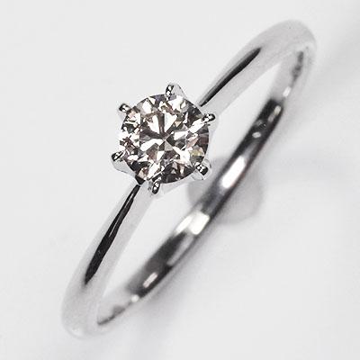 【 婚約指輪 】プラチナ・ダイヤモンド0.3ct(VSクラス・H&C・鑑別書カード付) ソリティアリング 【 エンゲージリング 】【 プロポーズリング 】