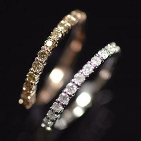 天然ダイヤモンド ダイヤモンド リング 日本未発売 超人気 選べるエタニティーリング 天然ダイヤモンド0.3ct 指輪