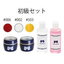 LEAFGEL PREMIUM ジェル検定キット 初級セット☆ソフトジェルタイプ ネイル検定 ジェルネイル検定