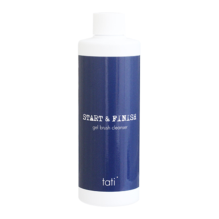 tati 最新 StartFinish ジェルブラシクレンザー 250ml 安心と信頼