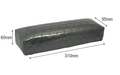 ネイルガーデン ハートアームレスト ネイル検定に1番人気 メーカー在庫限り品 OUTLET SALE ハート柄が可愛い ブラック TO-79 ピンク ホワイト 宅配便配送のみ