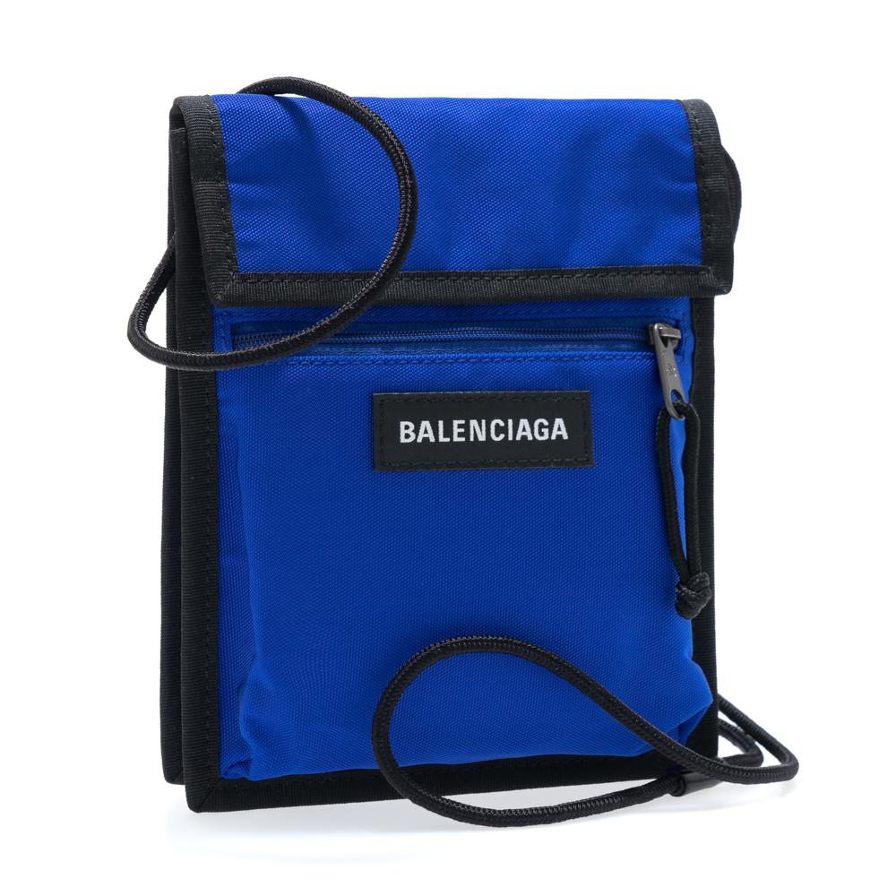 バレンシアガ BALENCIAGA ショルダーバッグ ミニバッグ 532298 9TYY5 4060 メンズ レディース ブルー エクスプローラー