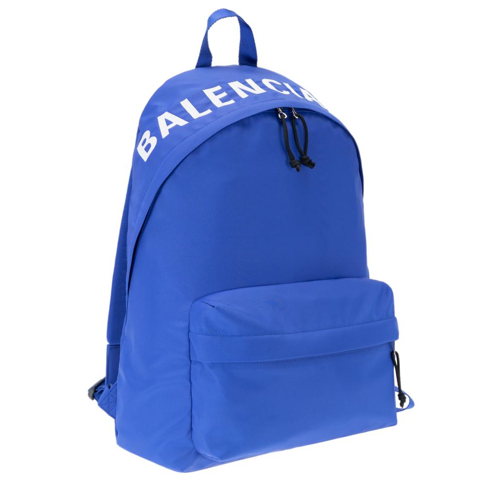 バレンシアガ リュック ウィール 507460 BALENCIAGA セール バックパック WHEEL ナイロン メンズ レディース 4170 今季も再入荷 プレゼント 9F91X 新着 ブルー ギフト