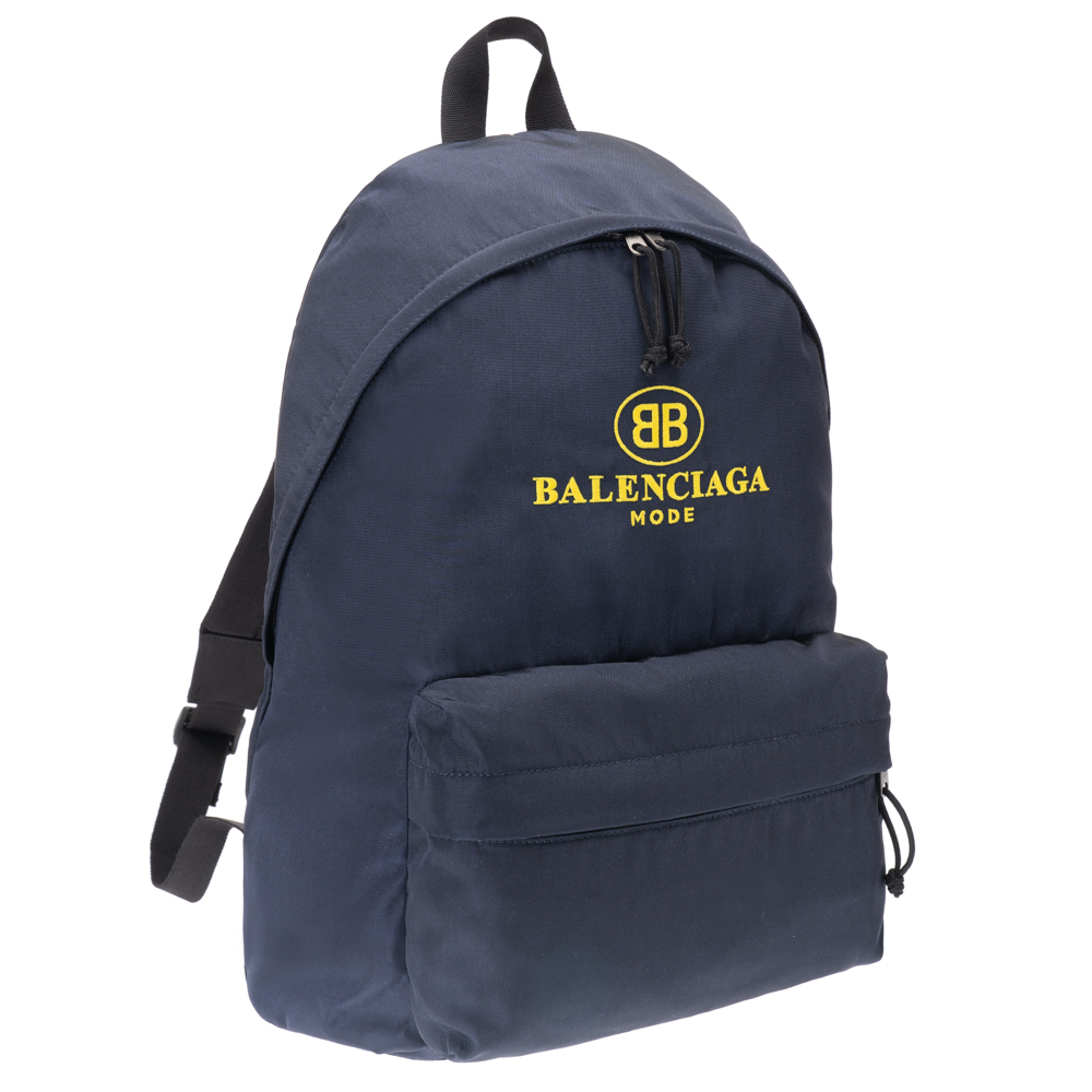 バレンシアガ リュック バッグ バックパック BALENCIAGA エクスプローラー 503221 9D0B5 4160 ナイロン ネイビー メンズ レディース 送料無料