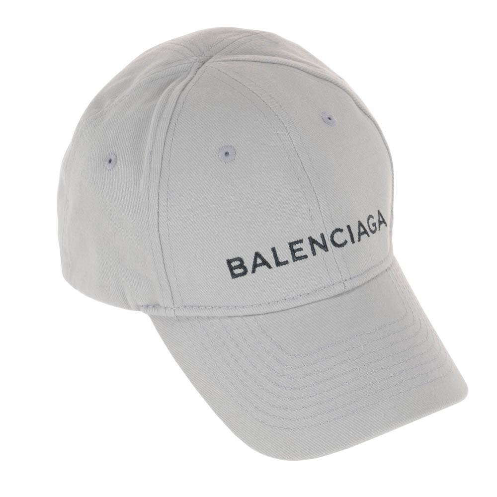 バレンシアガ BALENCIAGA 帽子 キャップ メンズ レディース 499071 310B5 1760 グレー balenciaga Lサイズ 58 ユニセックス 男女兼用 刺繍ロゴ 野球帽 送料無料
