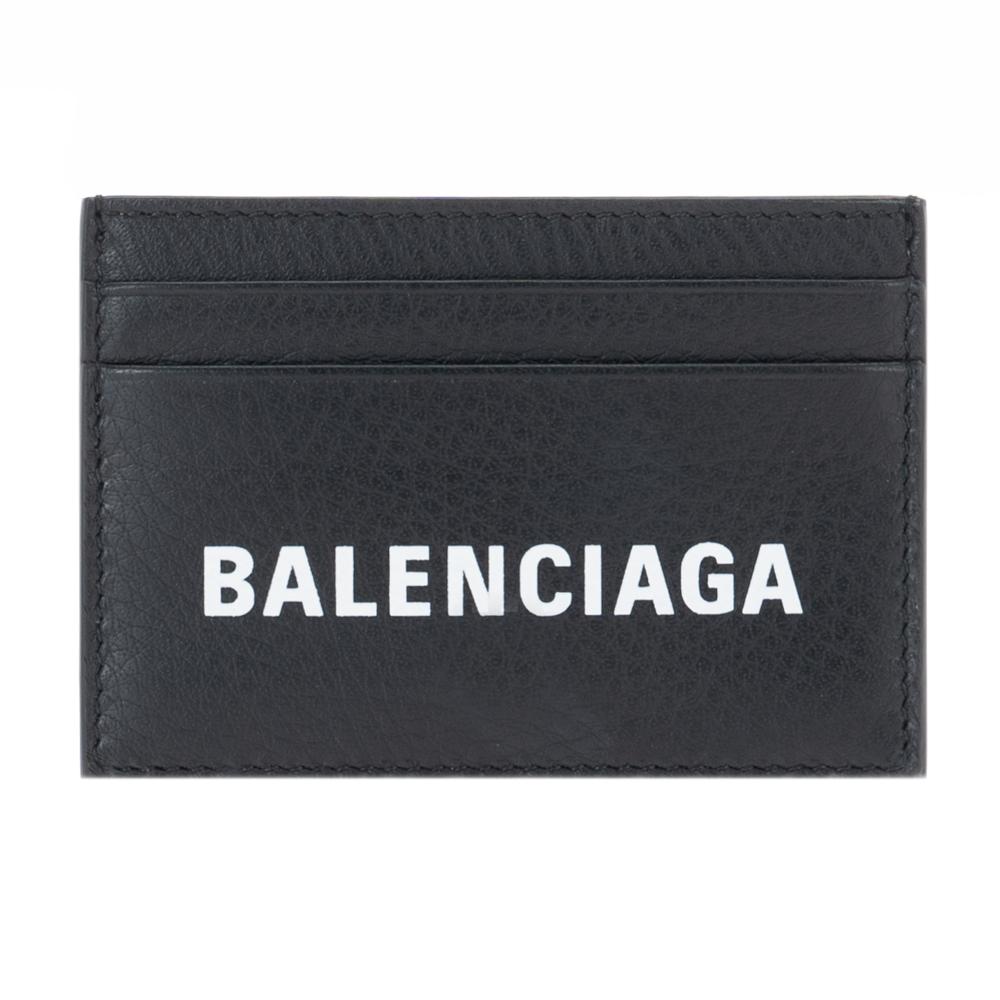 バレンシアガ カードケース パスケース BALENCIAGA ブラック/ホワイト/蛍光イエロー 505054 DLQKN 1072 レザー サイフ さいふ ウォレット おしゃれ お洒落 オシャレ シンプル ブランド 小物