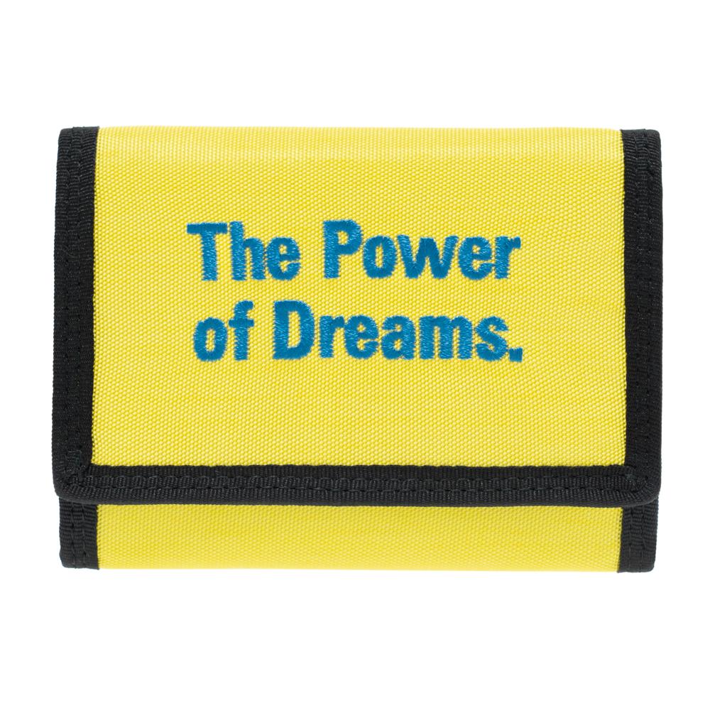 バレンシアガ BALENCIAGA 財布 三つ折り財布 コンパクト レディース メンズ イエロー 507481 9D0X5 7260 ナイロン 男女兼用 The Power of Dreams